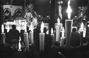 春日神社舞台 王祇祭