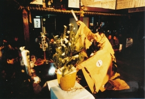 釼持松雄師の鉢木